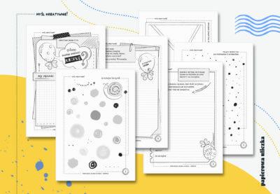 Kreatywne karty pracy – na Dzień Kropki i nie tylko